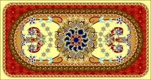 dywanowy wektor royalty ilustracja