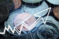 Dywidendy Na inwestycji Rosnąć Wysokiej Jakości obrazy stock