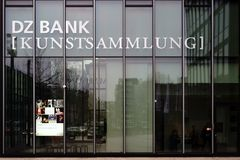 DZ Bank Art Collection Frankfurt Immagine Stock