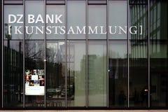 DZ Bank kolekcja sztuki Frankfurt Obraz Stock