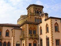 Venetianisch-Ähnliches palazzo Cà dZan in Sarasota, Flori Stockfotos