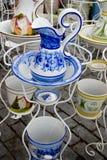 dzbanek dekorująca woda Zdjęcie Royalty Free