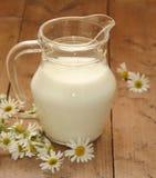 dzbanka mleko Zdjęcie Stock