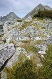 Dzhangal and momin dvor peaks, Pirin, Bulgaria Royalty Free Stock Photo