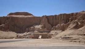 Dzheser Dzheseru eller tempel av Hatshepsut Royaltyfri Foto