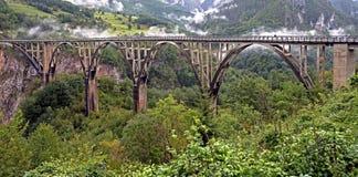 Dzhurdzhewich-Brücke 1 Stockfotos