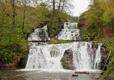 Dzhurinskiy Waterfall Royalty Free Stock Image