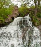 Dzhurinskiy Waterfall Stock Photography