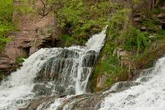 Dzhurinskiy Waterfall Royalty Free Stock Photo