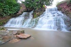 Dzhurinsky  waterfall village Nyrkov. Royalty Free Stock Photos