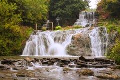 Dzhurynskyi waterfall. Ukraine Royalty Free Stock Image