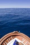 dziób łodzi zdjęcie stock