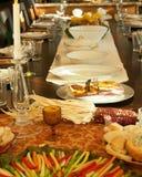 Dziękczynienia stołowy położenie Obraz Stock