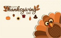 Dziękczynienia tło lub karta Fotografia Stock