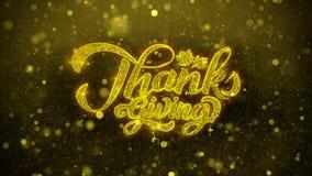 Dziękczynienie życzy powitanie kartę, zaproszenie, świętowanie fajerwerk
