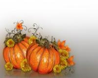 Dziękczynienie jesieni spadku tło Zdjęcia Royalty Free