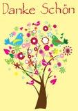 dziękować drzewa ty ilustracji