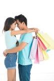 Dziękuje ciebie dla robić zakupy! Zdjęcia Stock
