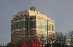Dział Środowiskowej konserwaci budynek Zdjęcia Stock