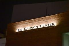 Działa centrum przy nocą, Memphis, TN obraz stock