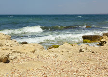 Działająca morze fala Zdjęcie Stock