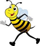 Działająca pszczoła Fotografia Royalty Free