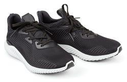Działający buty, sneakers lub trenery odizolowywający na bielu, zdjęcie royalty free