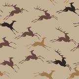 Działający deers Obrazy Stock