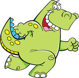 Działający dinosaur Zdjęcia Royalty Free