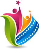 Działający edukacja logo ilustracja wektor