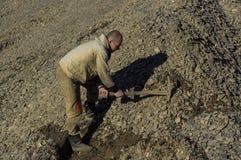 Działający kopalnie złociste Obraz Stock