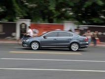 Działający samochód Fotografia Stock