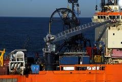 działanie łodzi Zdjęcie Stock