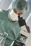 działanie naukowej laboratoryjne obrazy stock