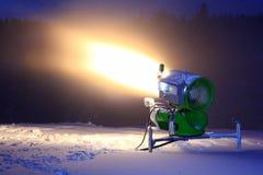 działo śnieg Fotografia Royalty Free