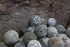 Działo piłki w St Angelo w Rzym zdjęcia stock