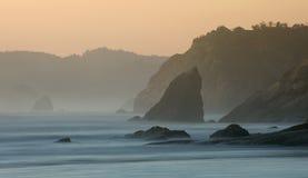Działo plaża, Oregon Fotografia Stock