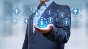 Działu Zasobów Ludzkich HR zarządzania Headhunting Rekrutacyjny Zatrudnieniowy pojęcie fotografia stock