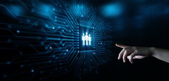 Działu Zasobów Ludzkich HR zarządzania Headhunting Rekrutacyjny Zatrudnieniowy pojęcie obraz royalty free