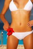 działanie bikini Fotografia Royalty Free