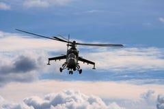 działanie helikoptera wojny Zdjęcia Royalty Free