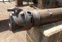 Działo przy Bijapur Karnataka Obraz Royalty Free