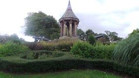 Działa przy arboretum Nottingham i zabytek Zdjęcia Royalty Free