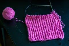 Dzia woolen szalika dla zima sezonu zdjęcie stock