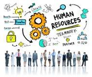 Dział Zasobów Ludzkich pracy zespołowej Zatrudnieniowy Akcydensowy biznes Korporacyjny Zdjęcie Stock