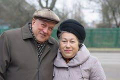 Dziad i Babcia Obrazy Royalty Free
