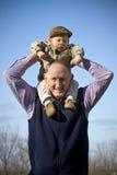 dziad szczęśliwy fotografia royalty free