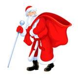 dziadek świątecznej Mikołaja Obraz Royalty Free