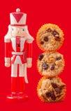 Dziadek do orzechów z Muffins obrazy royalty free