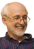 dziadek się uśmiecha Obrazy Stock
